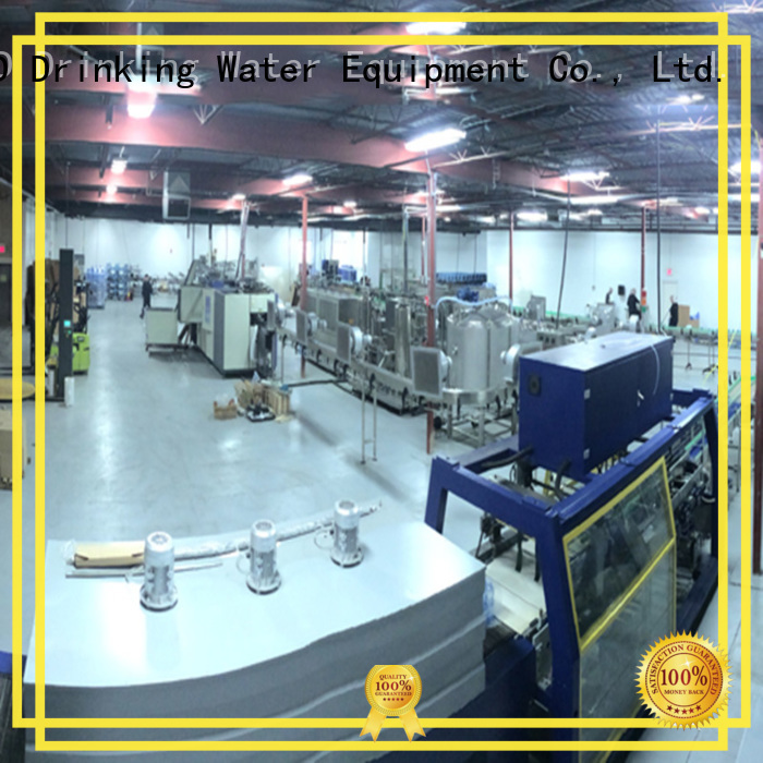 beverage bottled bottled water production machines J&D WATER manufacture