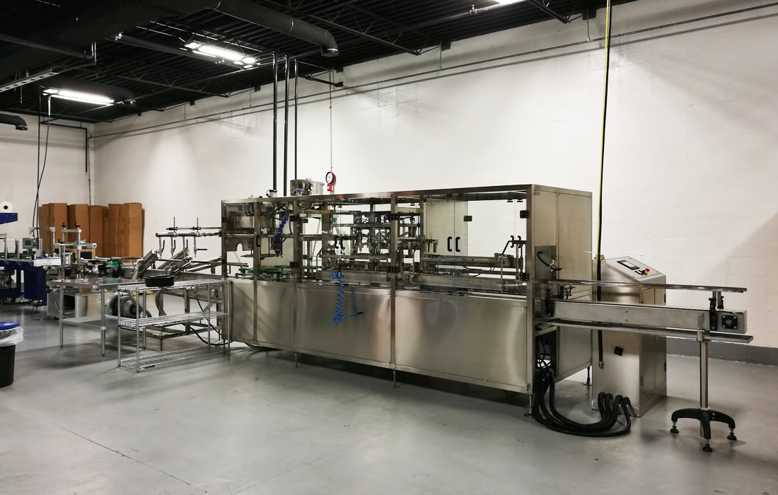 Complete 3-10L bottle filling line