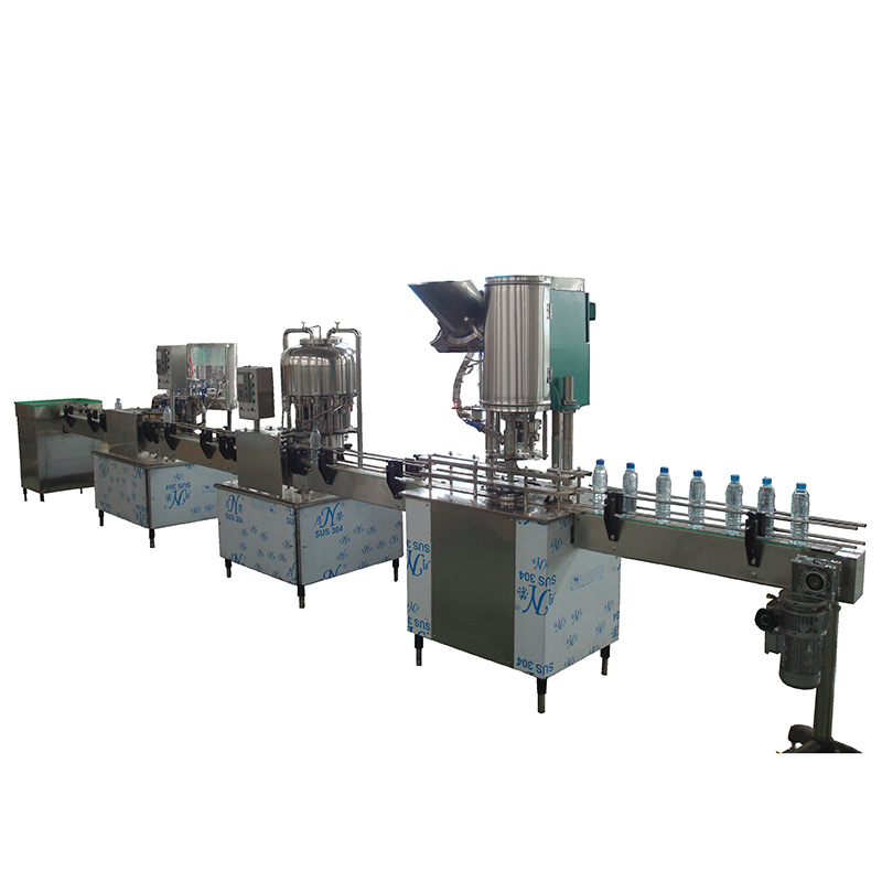 1000-2000bph Bottled Beverage Filling Machine