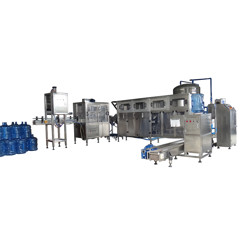 5 Gallon Bottle Washing Filling Capping Bottling Machine