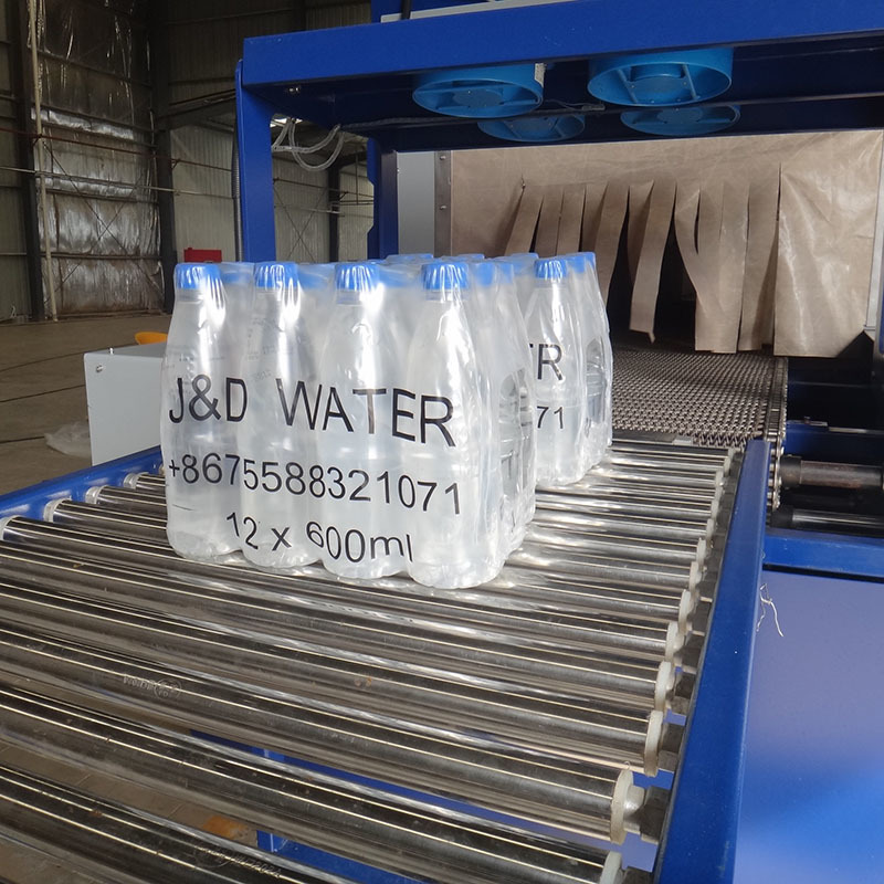 wrap machine automatic J&D WATER Brand shrink packing machine supplier