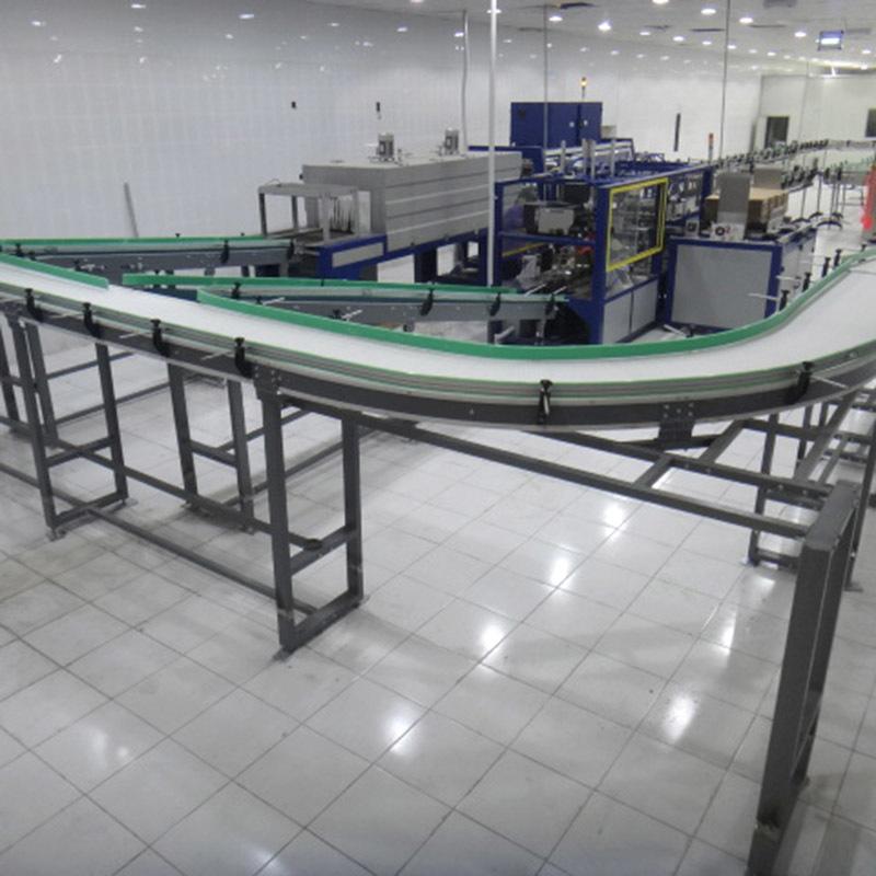 conveyor steel chain stainless chain conveyor J&D WATER