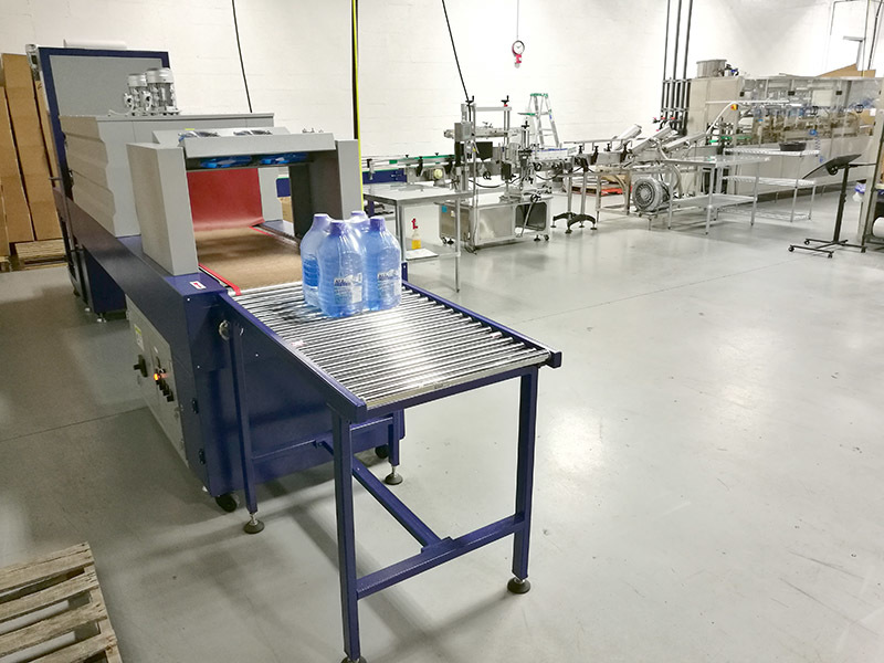 Complete 3-10L Plastic Bottle Beverage Product Line