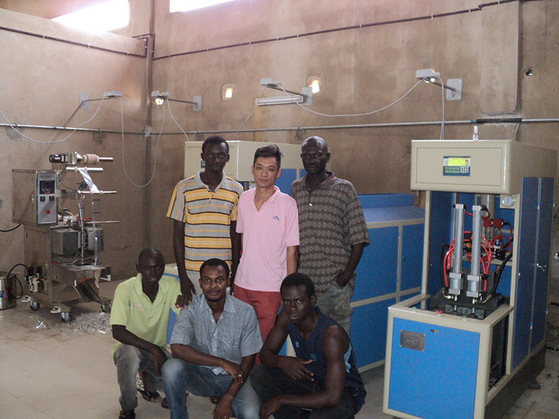 Shenzhen J&D Drinking Water install 2000BPH bottled vinegar line in Senegal