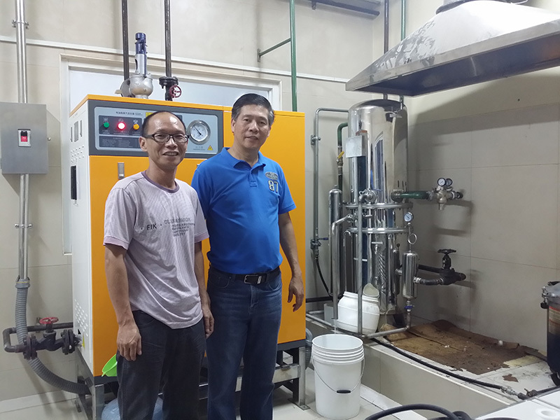 Shenzhen J&D Drinking Water install Distilled water machine in Phillppines
