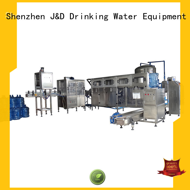 Wholesale capping water bottling machine prices J&D WATER Brand