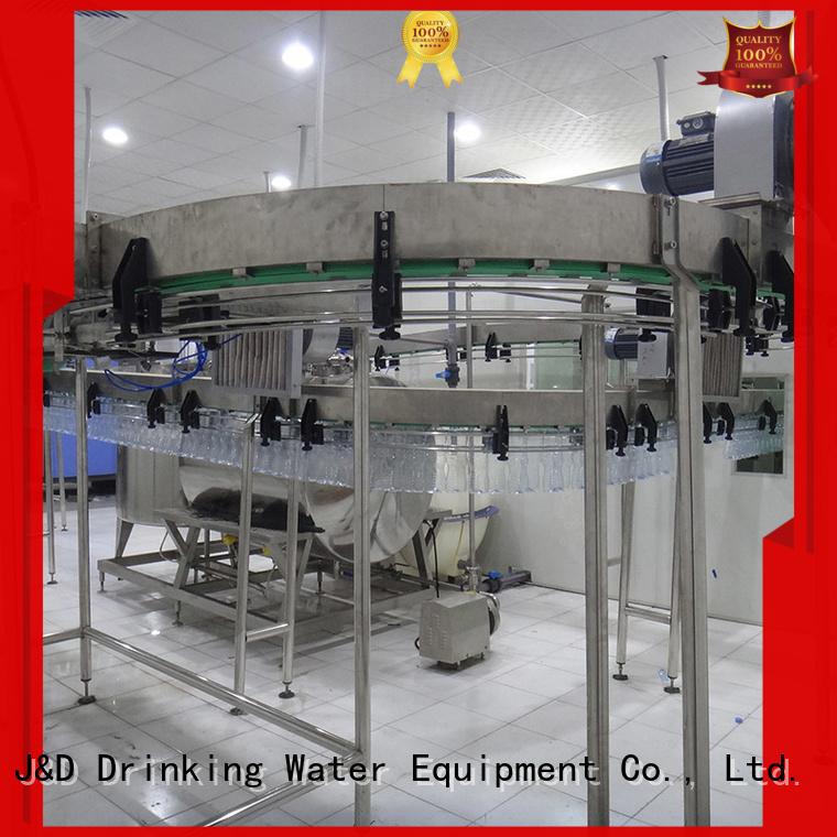 J&D WATER Brand line machine air conveyors beverage factory