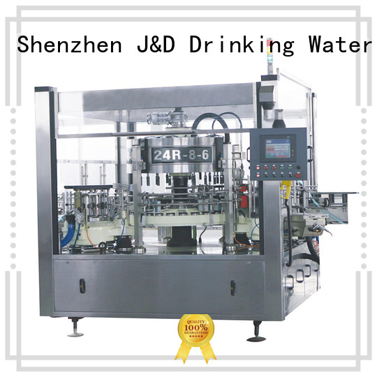 Wholesale labeling cold bottle labeling machine J&D WATER Brand