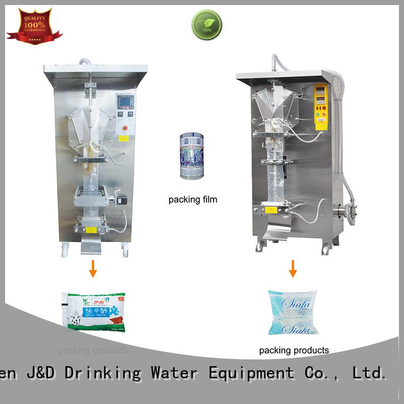 machine filling bagging machine bag J&D WATER company