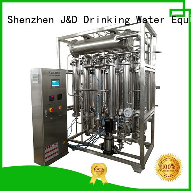 generator ozone equipment distilled water machine distiller J&D WATER Brand