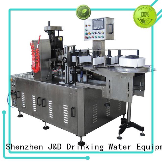 bottle melt bottles water bottle labeling machine J&D WATER