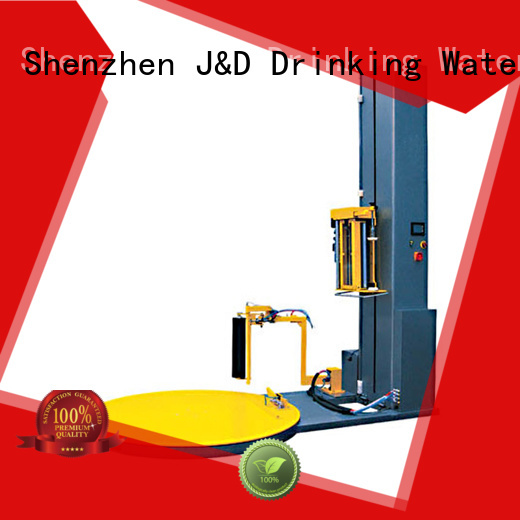 pallet shrink wrap machine machine pallet Warranty J&D WATER