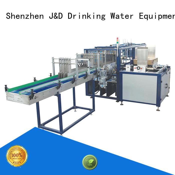 machine wraparound cartoning machine wrapping packing J&D WATER company
