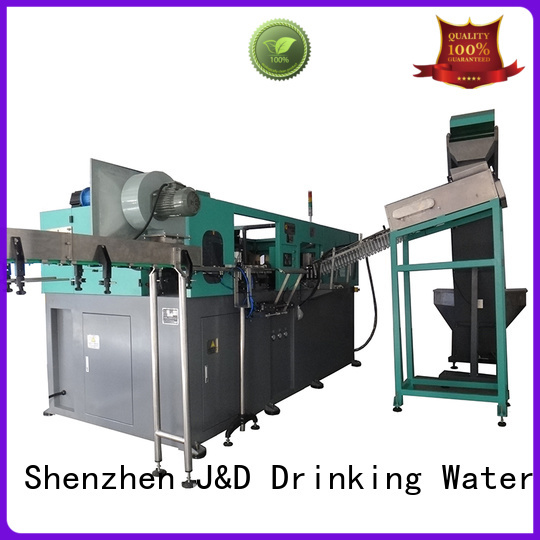 J&D WATER Brand automatic speed beer bottle labelling machine blowing supplier