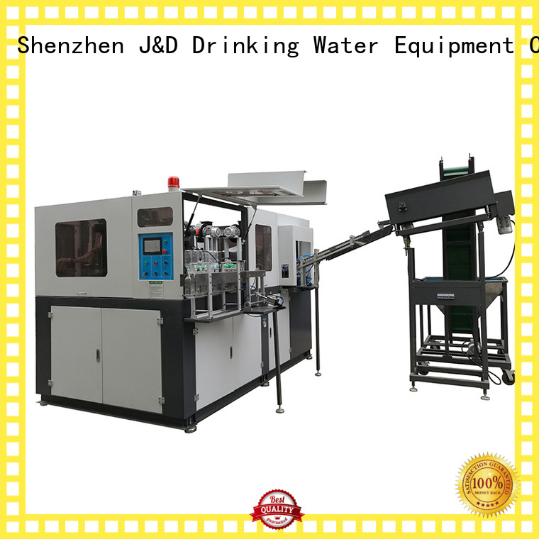J&D WATER Brand blow bottle custom semi automatic pet blowing machine price