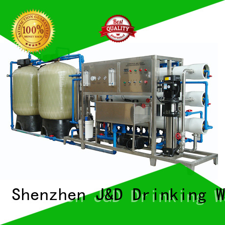 Quality J&D WATER Brand treatment water ro machine