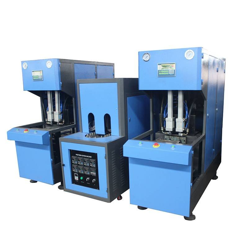 Semi-auto Reheat Stretch Blow Molding Machine