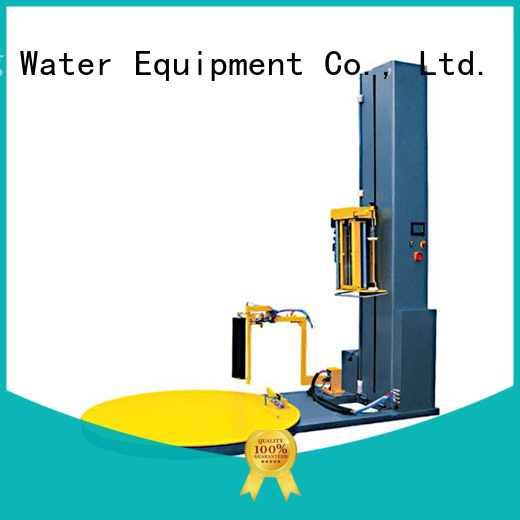 machine wrapping J&D WATER Brand pallet shrink wrap machine