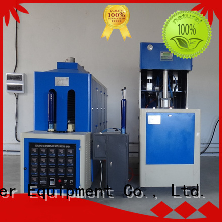 semiauto bottle injection stretch blow molding machine liquid J&D WATER company