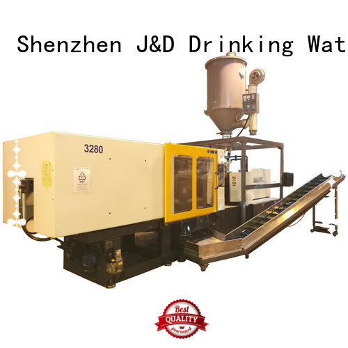 model cap J&D WATER Brand plastic injection moulding machine manufacturers factory