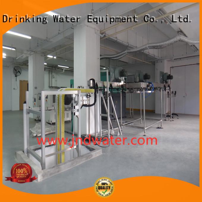 machine air conveyor systems air beverage J&D WATER Brand