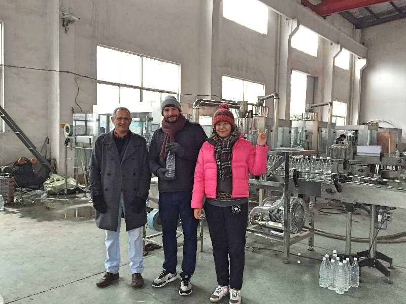 Colombia customers in our factory