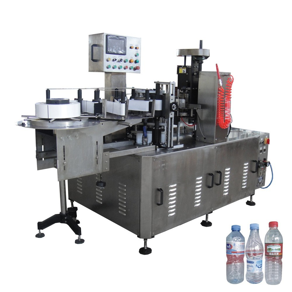 opp Custom melt water bottle labeling machine bottle J&D WATER