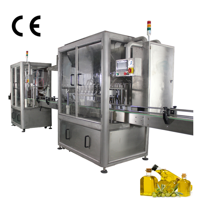 JND  series Automatic Olive Oil Filling Sealing Machine ail filling machine