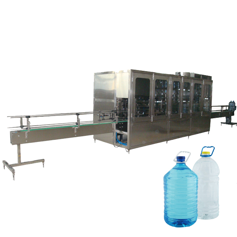 Automatic 3-10L Bottle Liquid Washing Filling Capping Machine