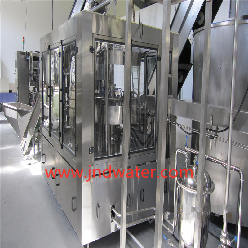 Automatic Hot Drink Washing/Filling/Capping Machine