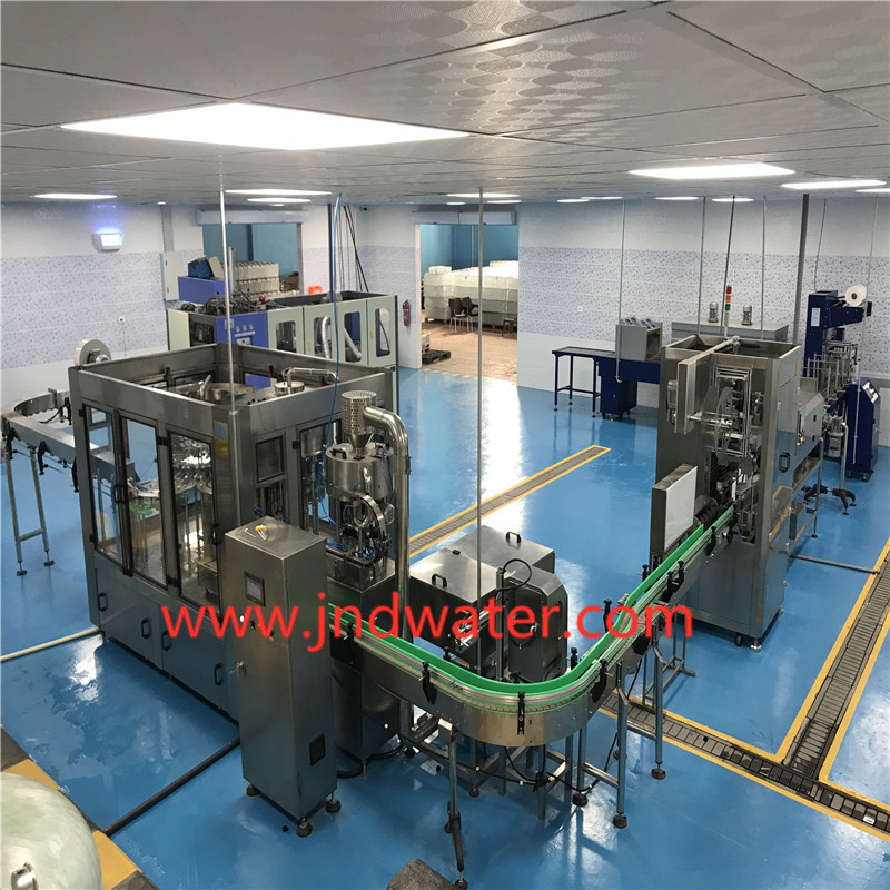 Non-carbonated Washing/ Filling /Capping Machine