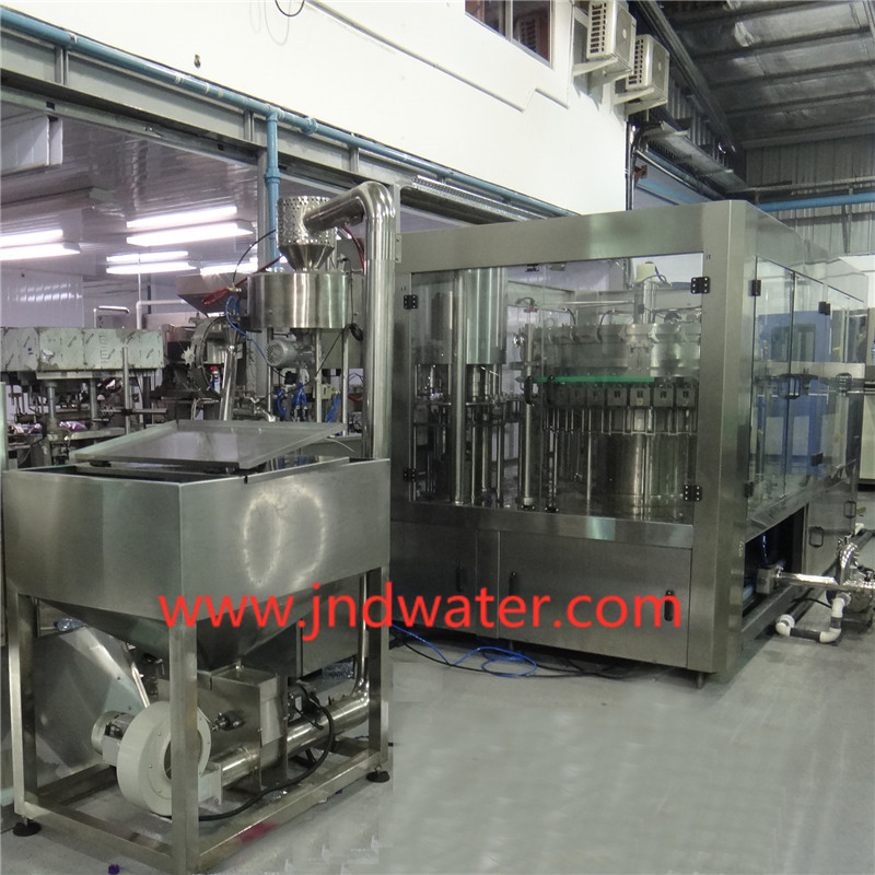 Carbonated Washing/Filling/Capping Machine