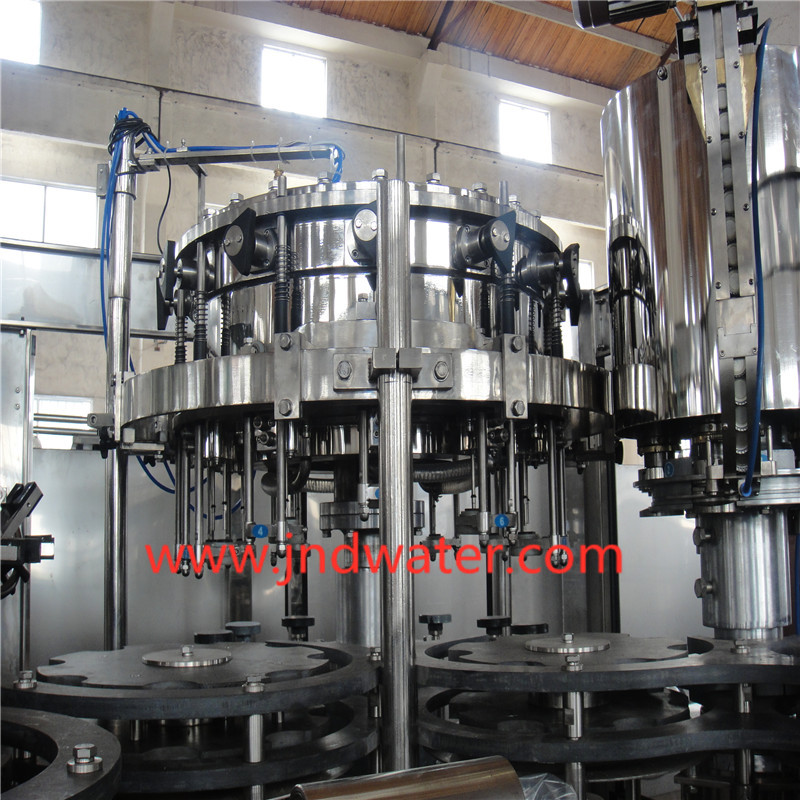 Glass Bottle Washing/Filling/Capping Machine