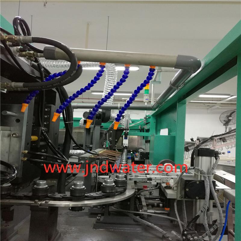 Auto High Speed Reheat Stretch Blow Molding Machine