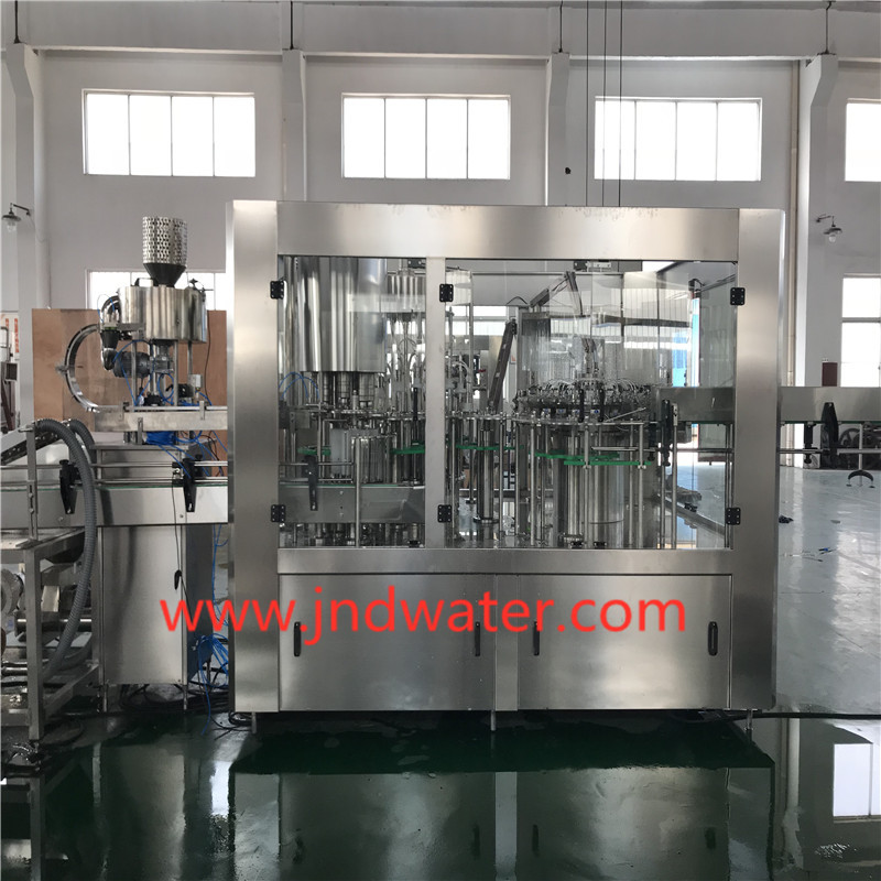 Low Vacuum Bottle Filling Machine