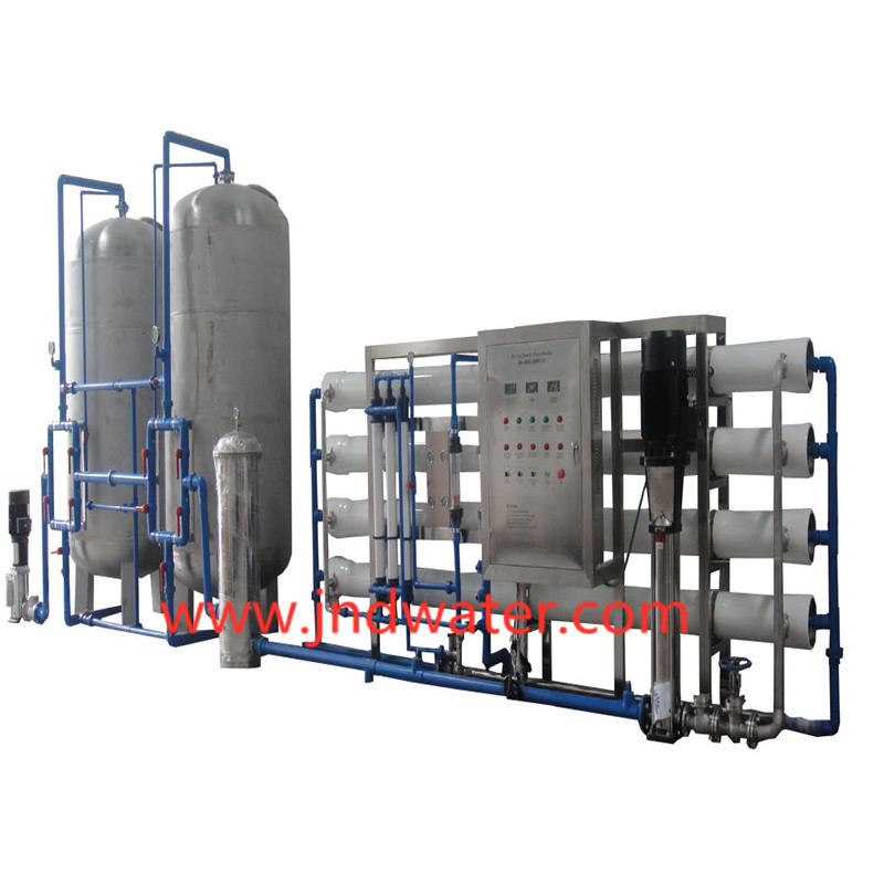 JNDWATER Stainless Steel Tank RO Water Treatment Equipemnt