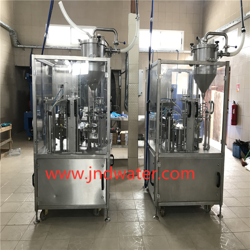 JNDWATER Cup Filling and Sealing Machine(Roll Film)
