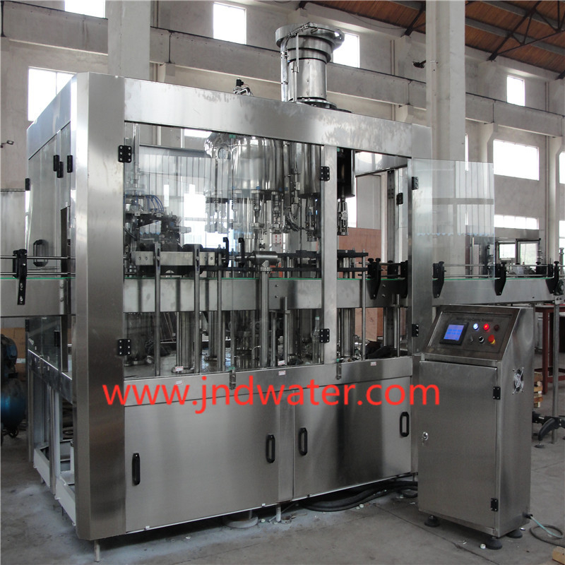 Glass Bottle Washing/Filling/Capping Machine