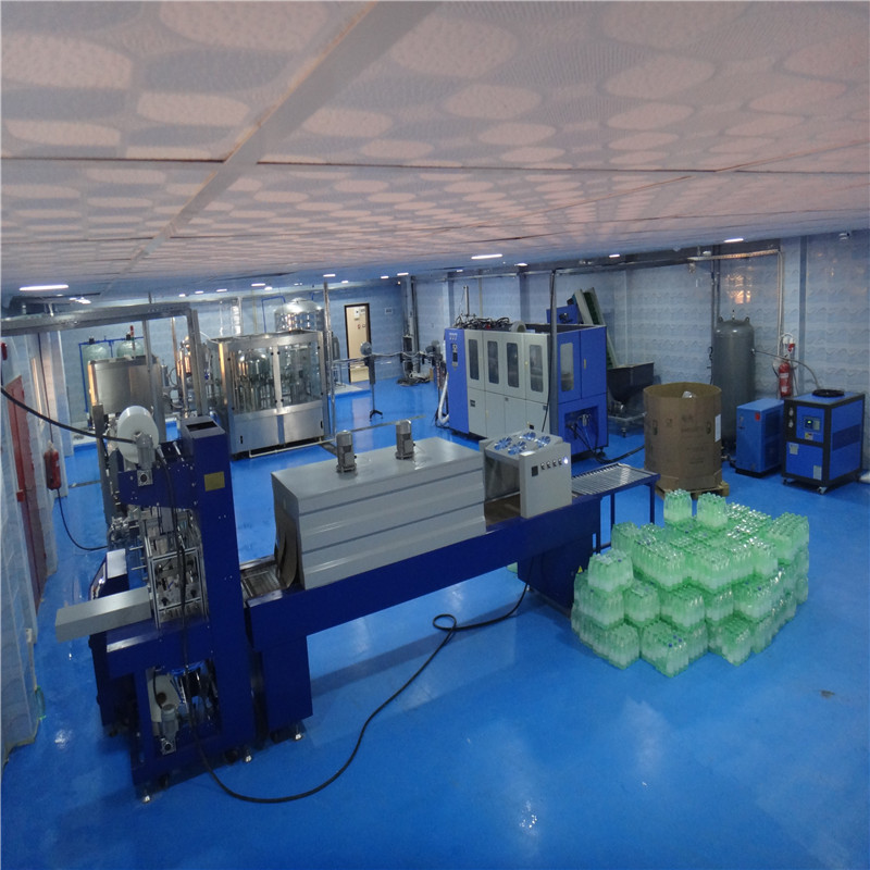 JNDWATER Auto Sealing and Shrinking Packager JND-150A