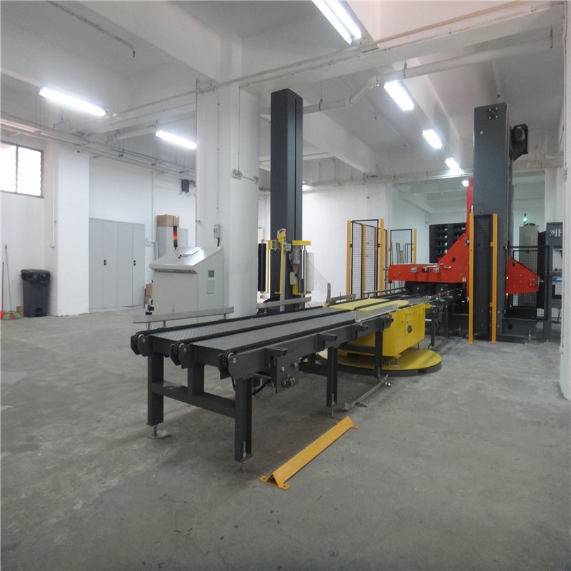 JNDWATER Automatic Pallet Stretch Wrapping Machine