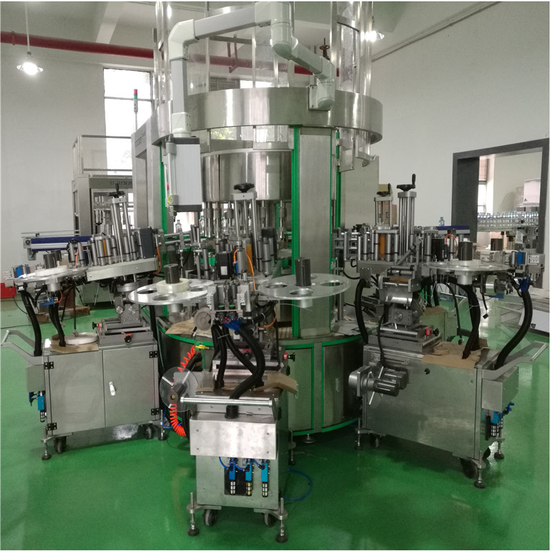 JNDWATER Self-Adhesive  Bottle Paper Sticker Labeling Machine JND-630