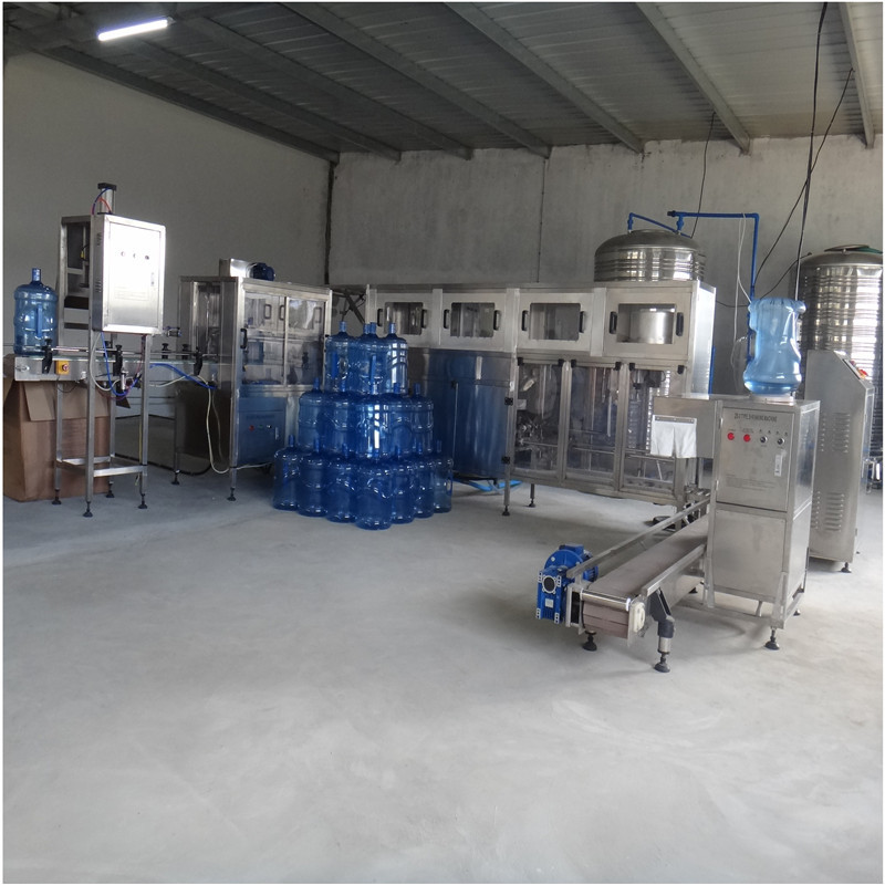 JNDWATER 5 Gallon Bottle Washing Filling Capping Bottling Machine
