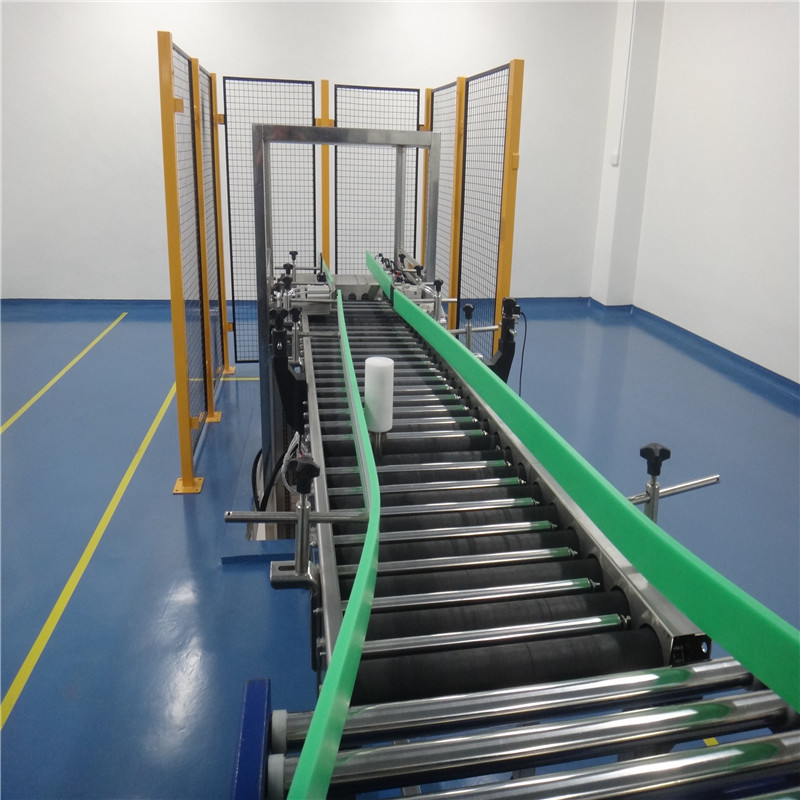 JNDWATER Steel Gravity Conveyor Powered Roller Conveyor