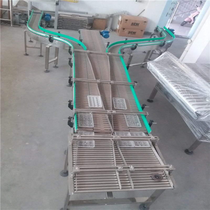 JNDWATER Industrial Conveyor Belts Slat Conveyor