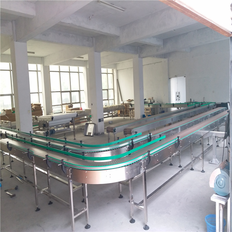 Wooden Slat Conveyor JNDWATER Stainless Steel Conveyor