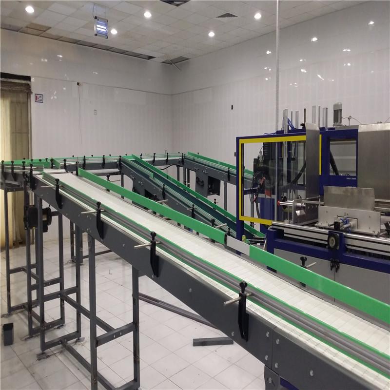 Plastic Slat Chain Conveyor JNDWATER Conveyor Transfer