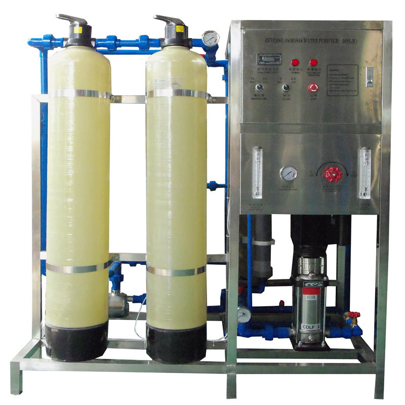 JNDWATER  Glass Tank RO Filter Machine Water Equipment