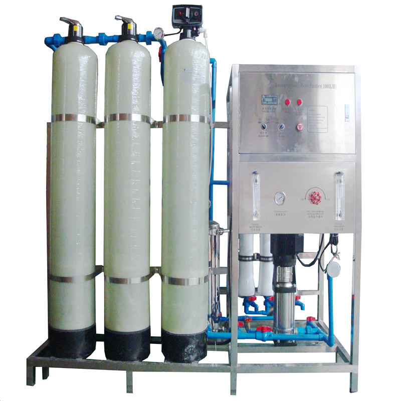 JNDWATER Glass Tank Reverse Osmosis System Water Treatment