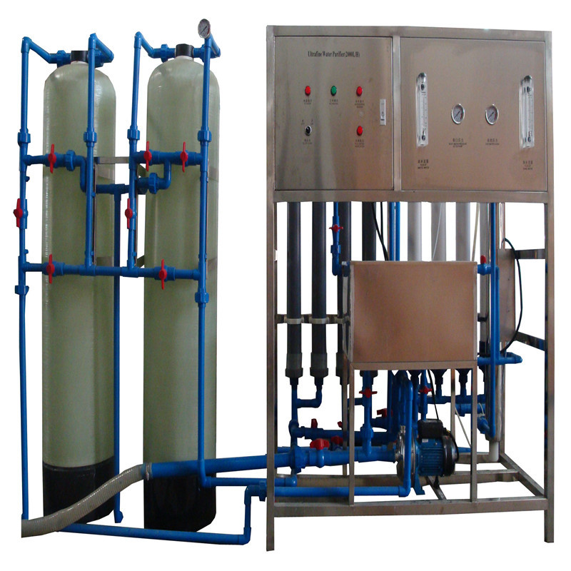 JNDWATER Mineral Water Making Machine With Glass Tank