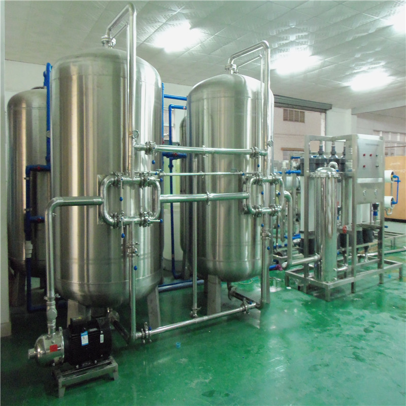 JNDWATER Mineral Water Plant Machinery With Stainless Steel